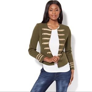 Military style blazer jacket Sz Medium